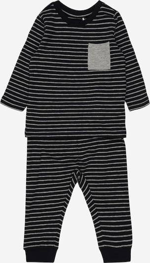 NAME IT Schlafanzug 'Natal' in nachtblau / grau, Produktansicht
