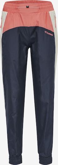 Hummel Pantalon de sport 'Delana' en bleu marine / gris clair / rose, Vue avec produit