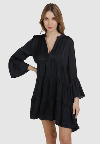 Usha Kleid in blau, Modelansicht