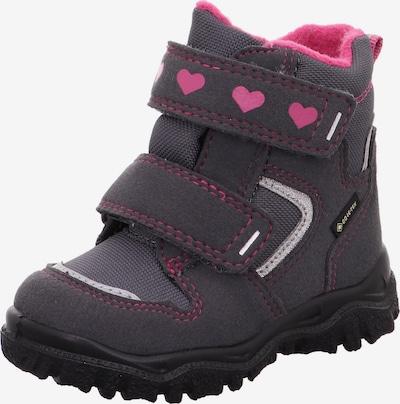 SUPERFIT Snowboots in de kleur Grijs / Rosa, Productweergave