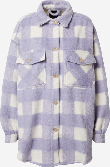 Cotton On Jacke in flieder / weiß, Produktansicht