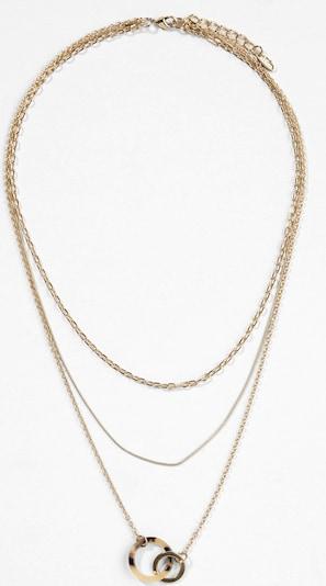 s.Oliver BLACK LABEL Kette in gold, Produktansicht