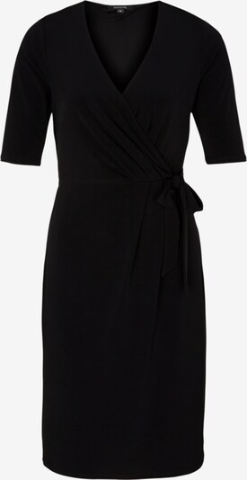 COMMA Kleid in schwarz: Frontalansicht