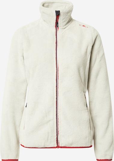 Jachetă  fleece funcțională CMP pe alb natural, Vizualizare produs