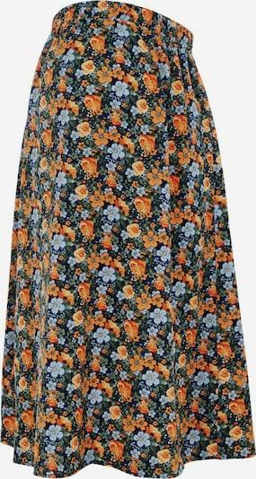 MAMALICIOUS Nederdel i blå / lyseblå / lyseorange, Produktvisning