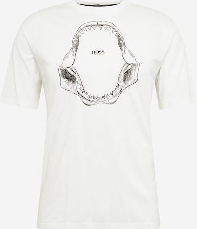 fekete / fehér BOSS Casual Póló 'Tima 2', Termék nézet