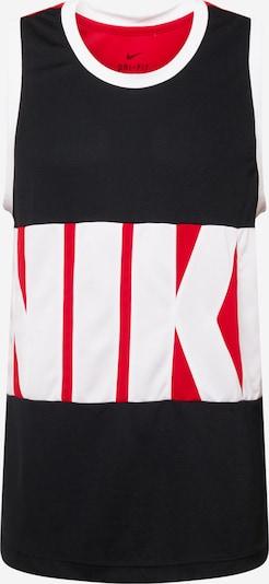 NIKE Funkčné tričko 'Starting 5' - červená / čierna / biela, Produkt
