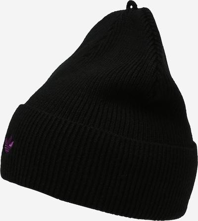 Megzta kepurė iš ADIDAS ORIGINALS, spalva – orchidėjų spalva / juoda, Prekių apžvalga