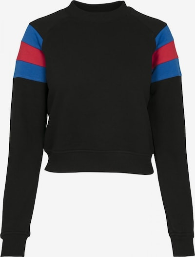 Urban Classics Curvy Sportisks džemperis zils / sarkans / melns, Preces skats