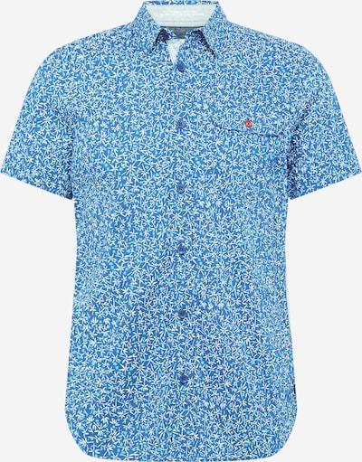 Petrol Industries Hemd in cyanblau / himmelblau / weiß, Produktansicht