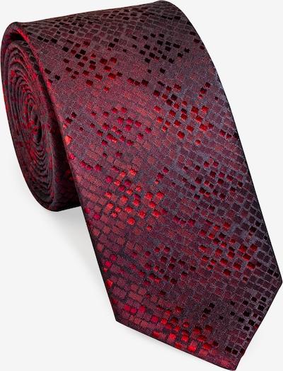 UNA Germany Krawatte in rot / bordeaux, Produktansicht