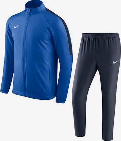 NIKE Trainingsanzug in royalblau / weiß, Produktansicht