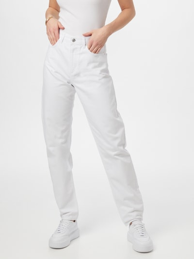 NA-KD Kavbojke | bel denim barva, Prikaz modela