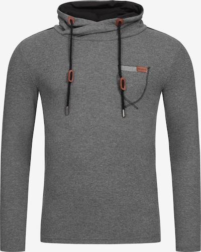 Redbridge Pullover Santa Rosa mit hohem Kragen in grau, Produktansicht