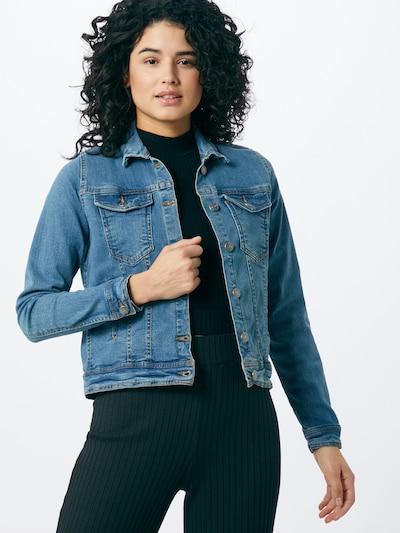b.young Prijelazna jakna u plavi traper: Prednji pogled