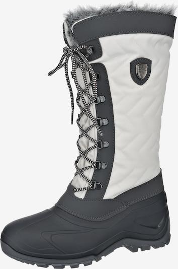CMP Stiefel ' Nietos' in anthrazit / weiß, Produktansicht