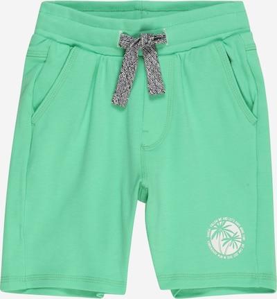 Pantaloni GARCIA pe verde mentă / alb, Vizualizare produs