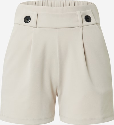 JACQUELINE de YONG Pleat-front trousers 'GEGGO' in light grey: Frontal view