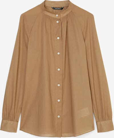 Marc O'Polo Bluse in dunkelbeige, Produktansicht