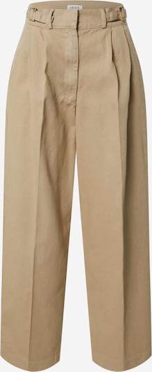 EDITED Pressveckade jeans 'Chiara' i beige, Produktvy