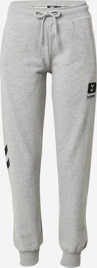 Hummel Παντελόνι φόρμας 'Alula' σε γκρι / μαύρο / λευκό, Άποψη προϊόντος