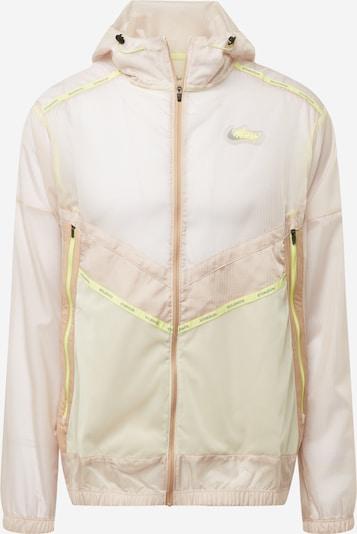 NIKE Sportjas in de kleur Geel / Lichtgrijs / Poederroze, Productweergave
