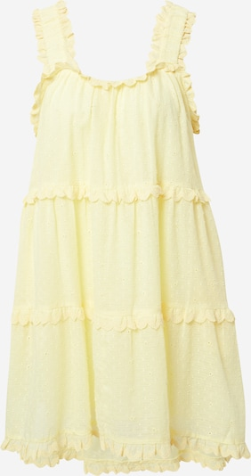ABOUT YOU Limited Robe 'Janine' en jaune clair, Vue avec produit