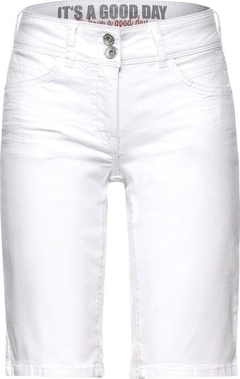 CECIL Shorts 'Style Scarlett' in weiß, Produktansicht