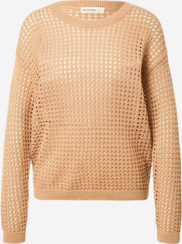 24COLOURS Pullover in Braun
