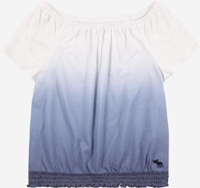 Abercrombie & Fitch T-Shirt in blau / weiß, Produktansicht