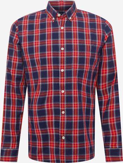 GAP Hemd in dunkelblau / gelb / rot / weiß, Produktansicht
