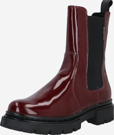 BULLBOXER Chelsea Boots in bordeaux, Produktansicht
