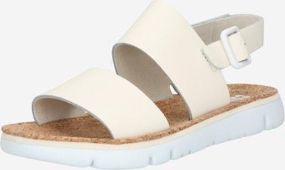 CAMPER Sandales à lanières ' Oruga ' en beige clair, Vue avec produit