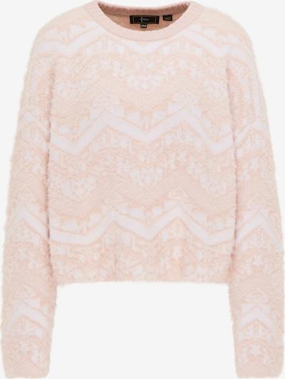 faina Pullover in pastellpink / weiß, Produktansicht