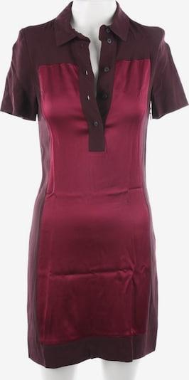 Victoria Beckham Blusenkleid in XXS in bordeaux, Produktansicht