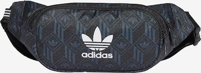 ADIDAS ORIGINALS Gürteltasche 'Monogram' in blau / schwarz / weiß, Produktansicht