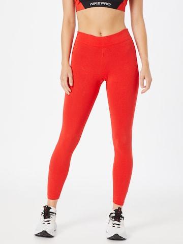 Nike Sportswear Leggins in Rot
