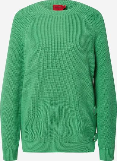 Megztinis 'Shiloh' iš HUGO, spalva – žalia, Prekių apžvalga