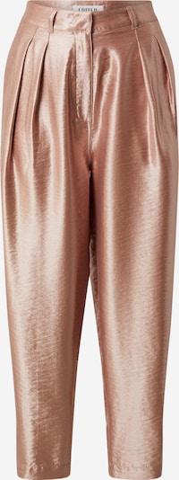 EDITED Pantalon à pince 'Rea shine' en rosé, Vue avec produit