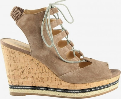 Another A Wedges Sandaletten in 38 in braun / schwarz, Produktansicht