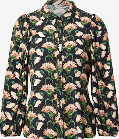 NAF NAF Блуза в нейви синьо / пъстро, Преглед на продукта