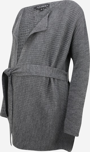 Geacă tricotată Attesa pe gri metalic, Vizualizare produs