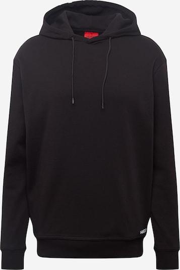 HUGO Majica 'DAYFUN' | črna / bela barva, Prikaz izdelka