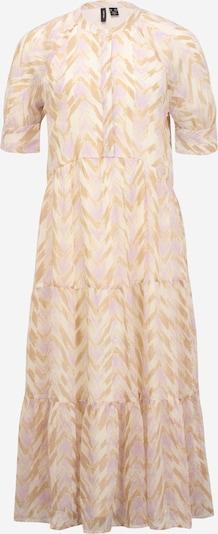 Vero Moda Tall Blusekjole 'KATHRINE' i creme / camel / lilla, Produktvisning