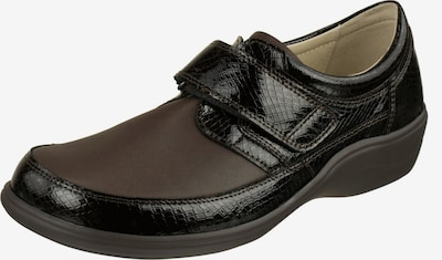 Natural Feet Klettschuhe in braun: Frontalansicht