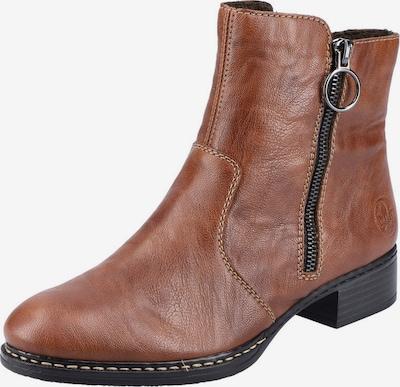 RIEKER Støvletter i rustbrun, Produktvisning