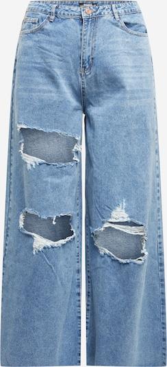 Missguided Plus Jeans i blå denim, Produktvy