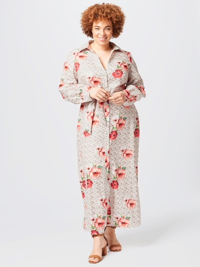 Rochie tip bluză 'Keiera' Chi Chi Curve pe mai multe culori, Vizualizare model