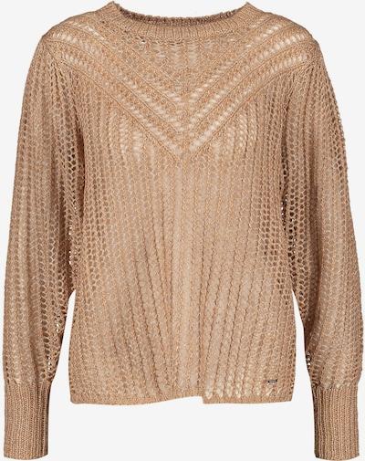 TAIFUN Pullover in hellbraun, Produktansicht