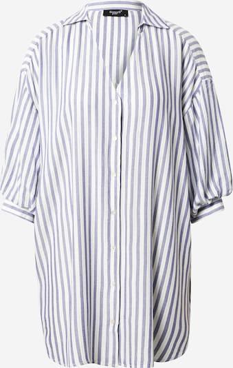 SISTERS POINT Bluse 'ILINA' in blau / weiß, Produktansicht
